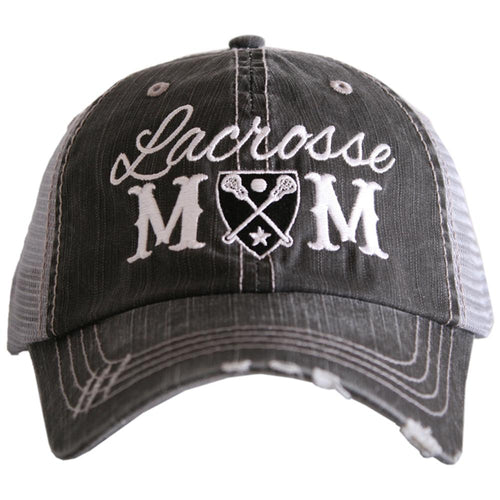 Lacorsse Mom Hat - Black - OTC Lacrosse