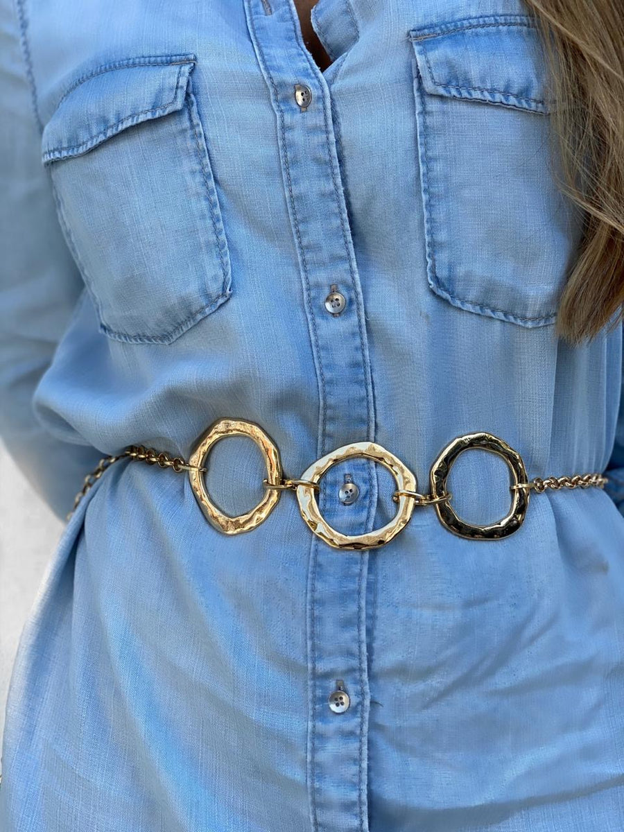Circle Your Waist Chain Belt