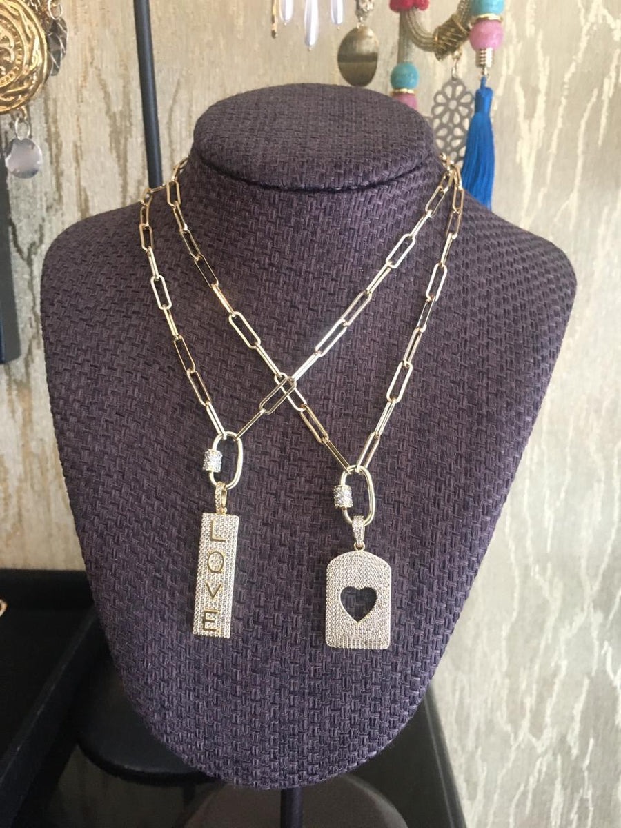 Love Lock Necklaces
