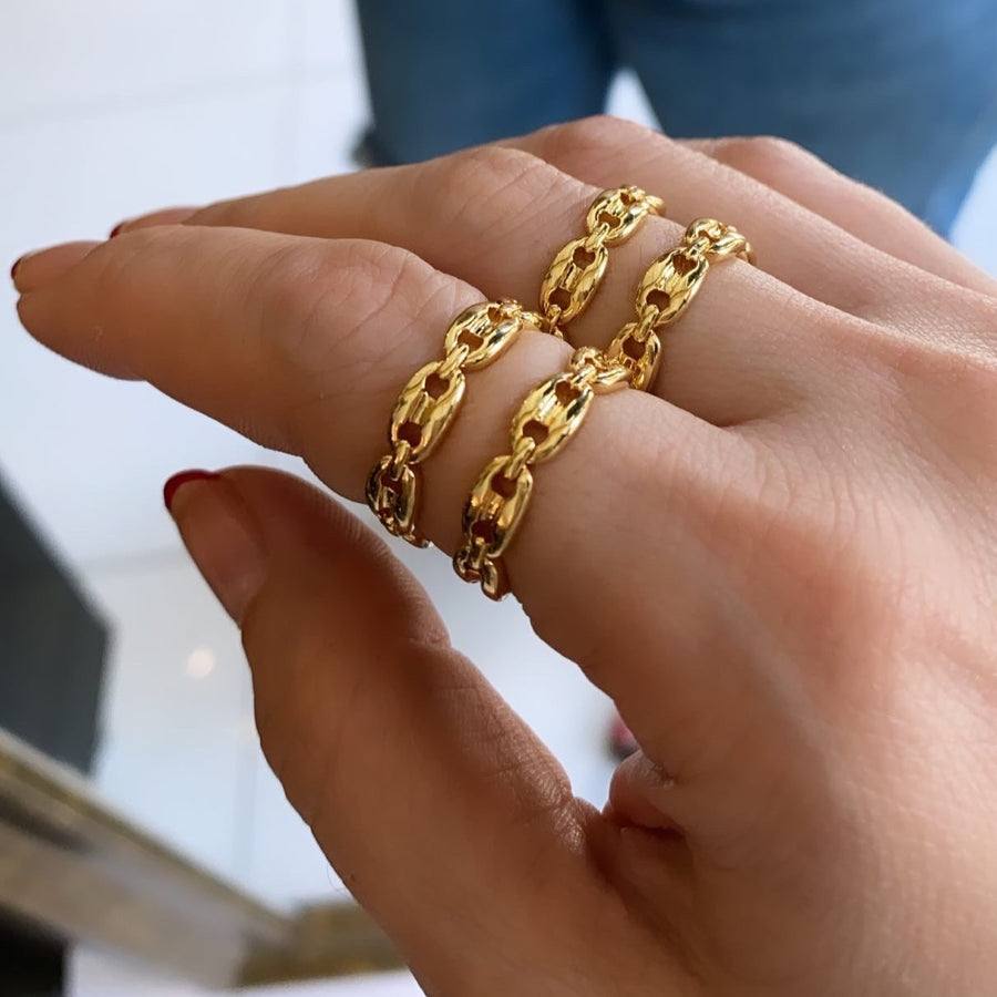 GOLDEN RINGS ADJUSTABLE