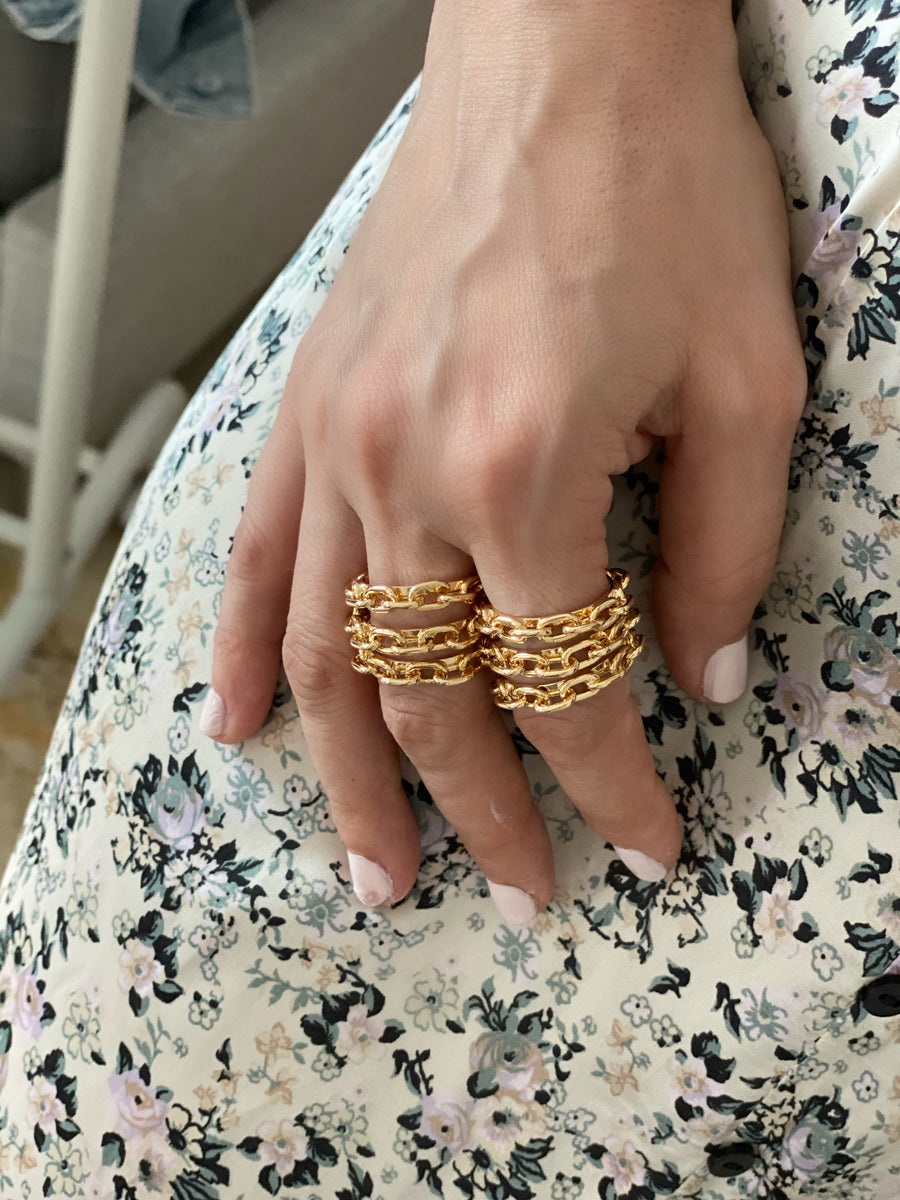 RINGS CHAIN STYLE