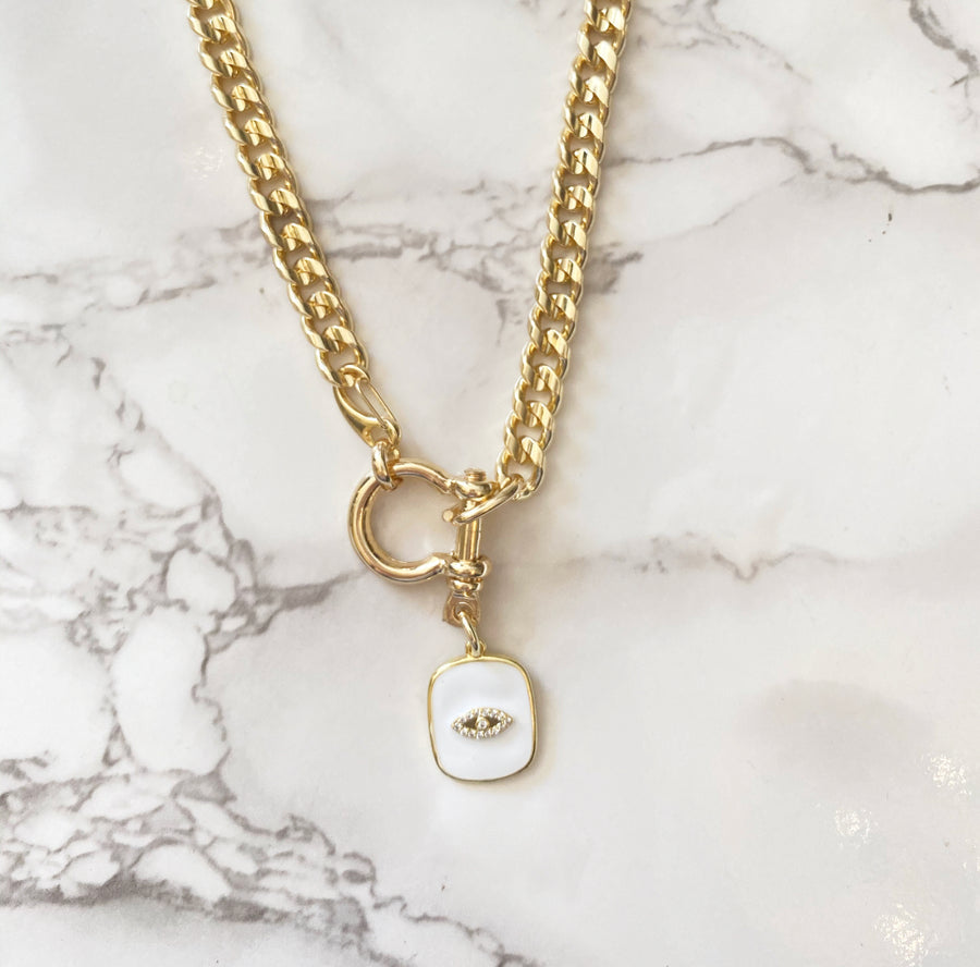 GOLDEN CHARM NECKLACE