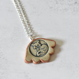 China Link Bracelet - Multicolor Pattern Bowls - Rainbow