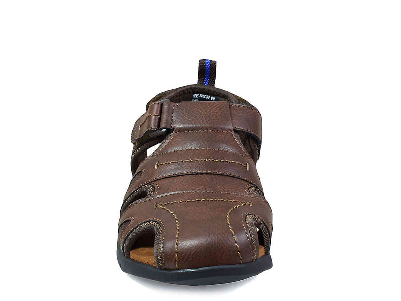 Nunn Bush Rio Grande Three-Strap Fisherman Sandal Tan