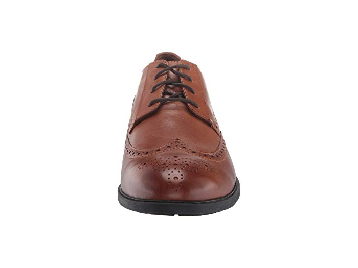 Hush Puppies Shepsky WT Oxford - Dark Tan Leather