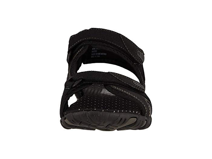 Nunn Bush Rio Bravo Three Strap River Sandal Black