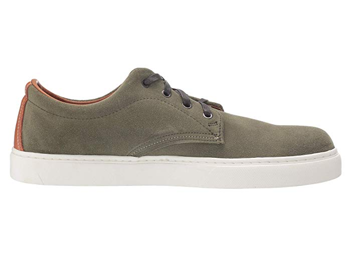 Wolverine 1000 Mile Oxford Sneaker Low Green Suede