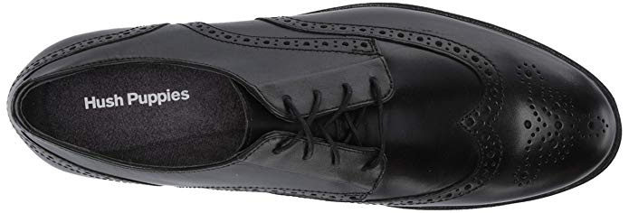 Hush Puppies Shepsky WT Oxford - Black Leather
