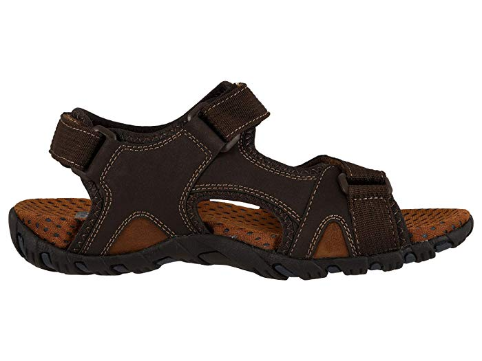 Nunn Bush Rio Bravo Three Strap River Sandal Brown