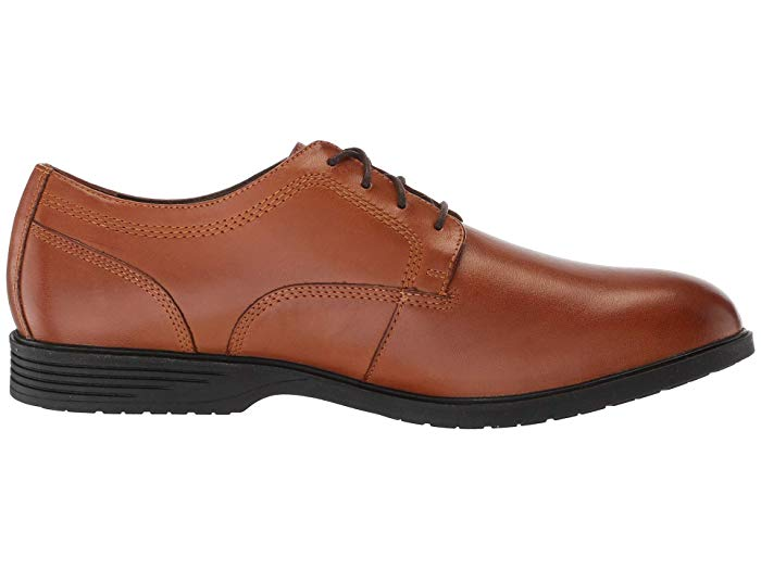 Hush Puppies Shepsky PT Oxford - Dark Tan Leather