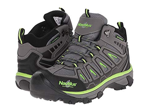 "Nautilus 6"" Light Weight Mid Waterproof Safety Steel Toe EH Hiker"