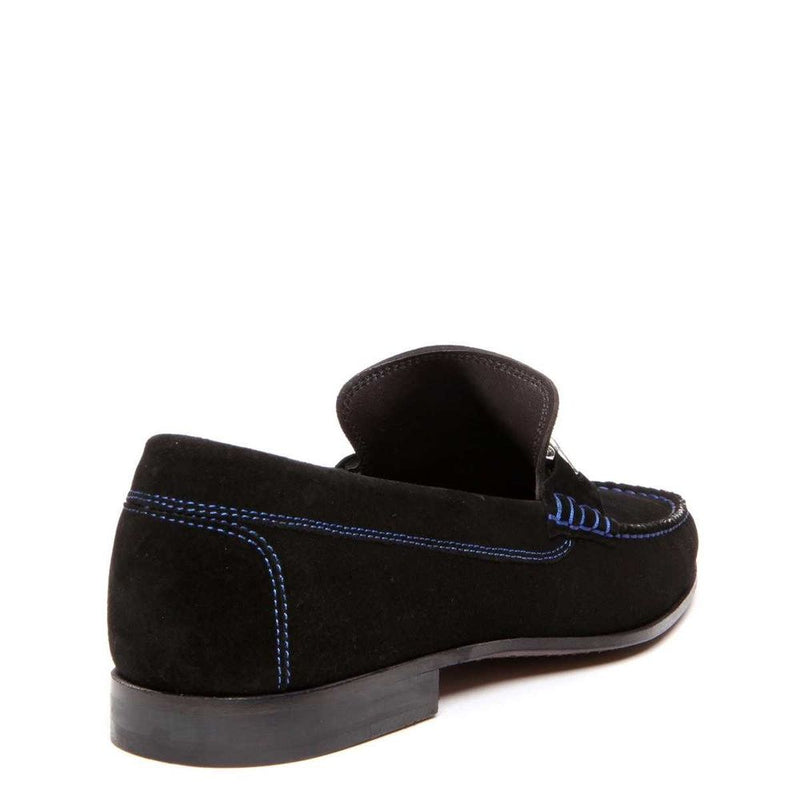 Donald Pliner Dacio 2 Suede Loafer Black