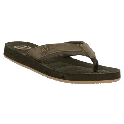 Cobian Men's Draino Flip Flops - Chocolate