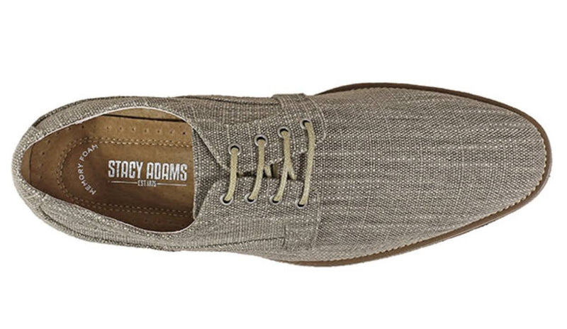 Stacy Adams ELI Plain Toe Oxford Taupe
