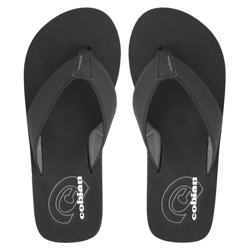 Cobian Men's Floater Flip Flops - Black