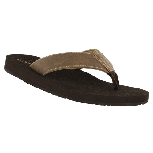 Cobian Men's Floater Flip Flops - Mocha
