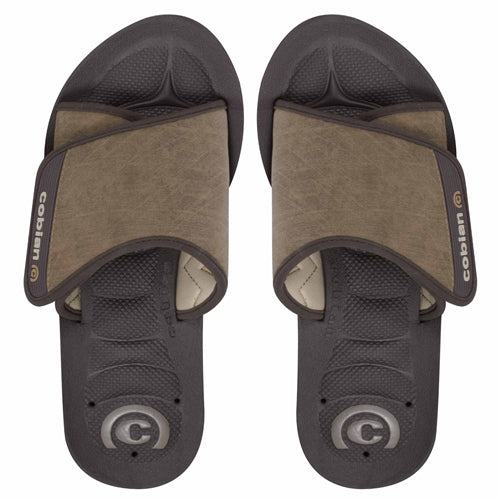 Cobian Men's GTS Draino Slides - Chocolate
