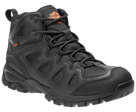 Harley Davidson Men's Woodridge 6-Inch Hiker WP - Black