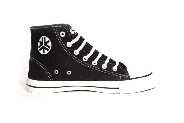 Etiko Hi Tops Black & White Organic