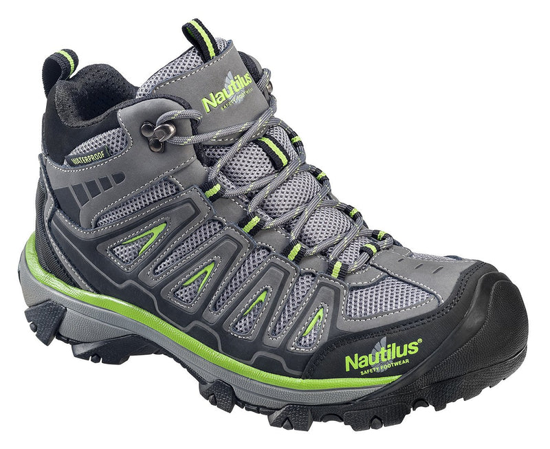 "Nautilus 6"" Light Weight Mid Waterproof Safety Toe EH Hiker"