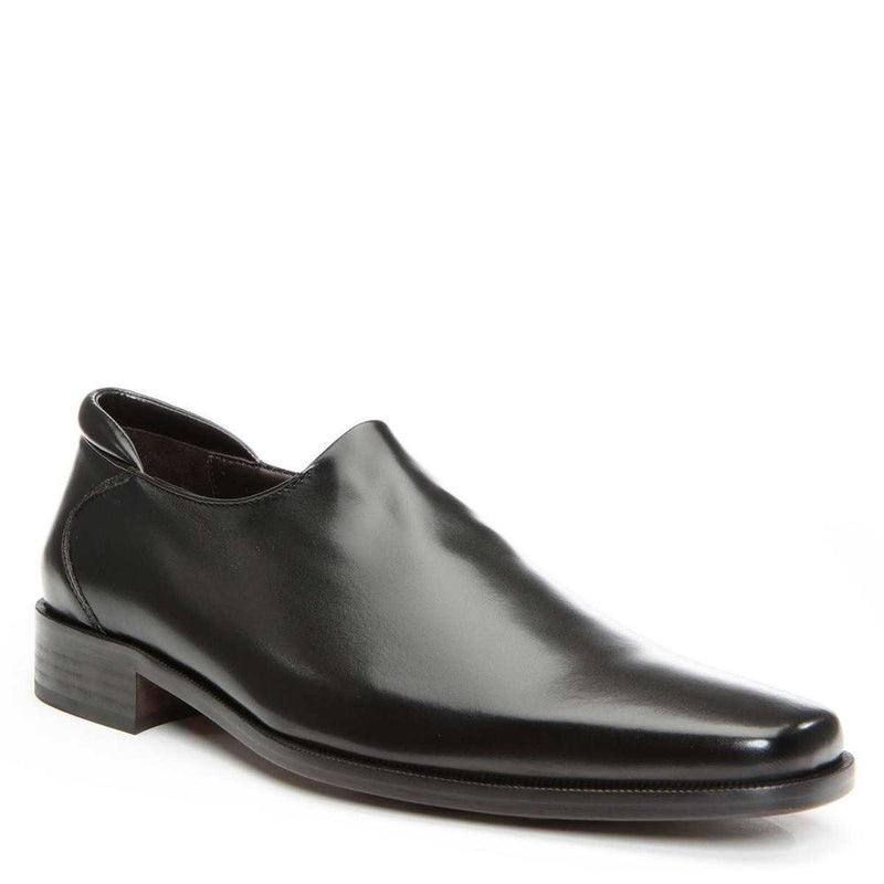Donald J Pliner Rex Nappa Stretch Loafer Black