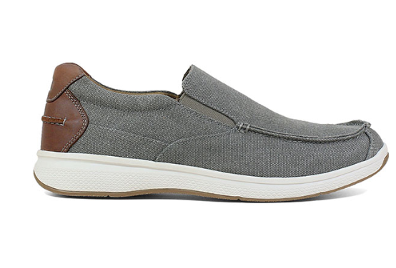 Florsheim Great Lakes Canvas Moc Toe Slip On