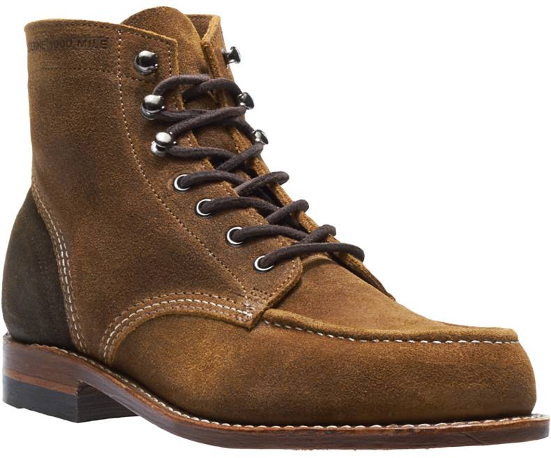 Wolverine Men's 1000 Mile 1940 Boot Dark Tan