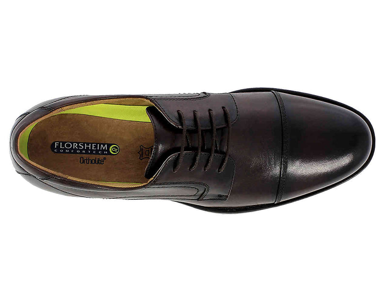 Florsheim Midtown Cap Toe Oxford Brown