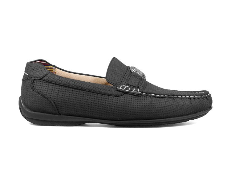 Stacy Adams CYD Moc Toe Bit Slip On Gray