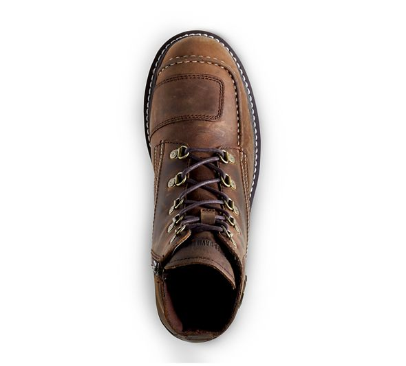 Harley Davidson Shoes Hagerman Scrubland Moyen Biege - Brown