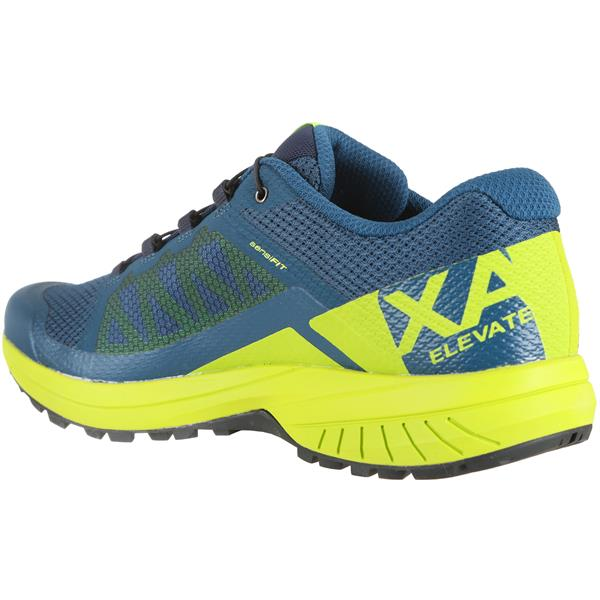 Salomon's Men's XA Elevate Trail Running Shoes Blue/Green
