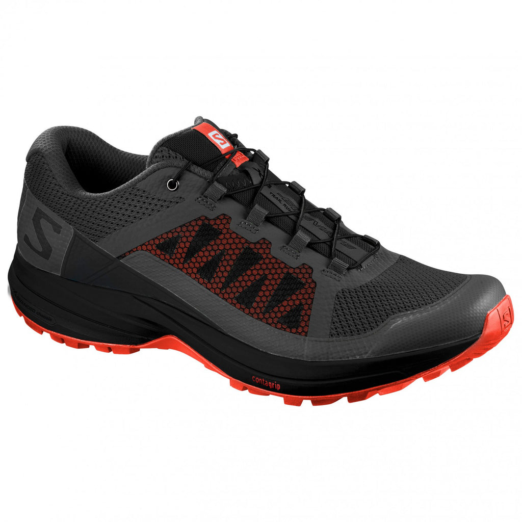 Salomon's Men's XA Elevate Trail Running Shoes Black/Red