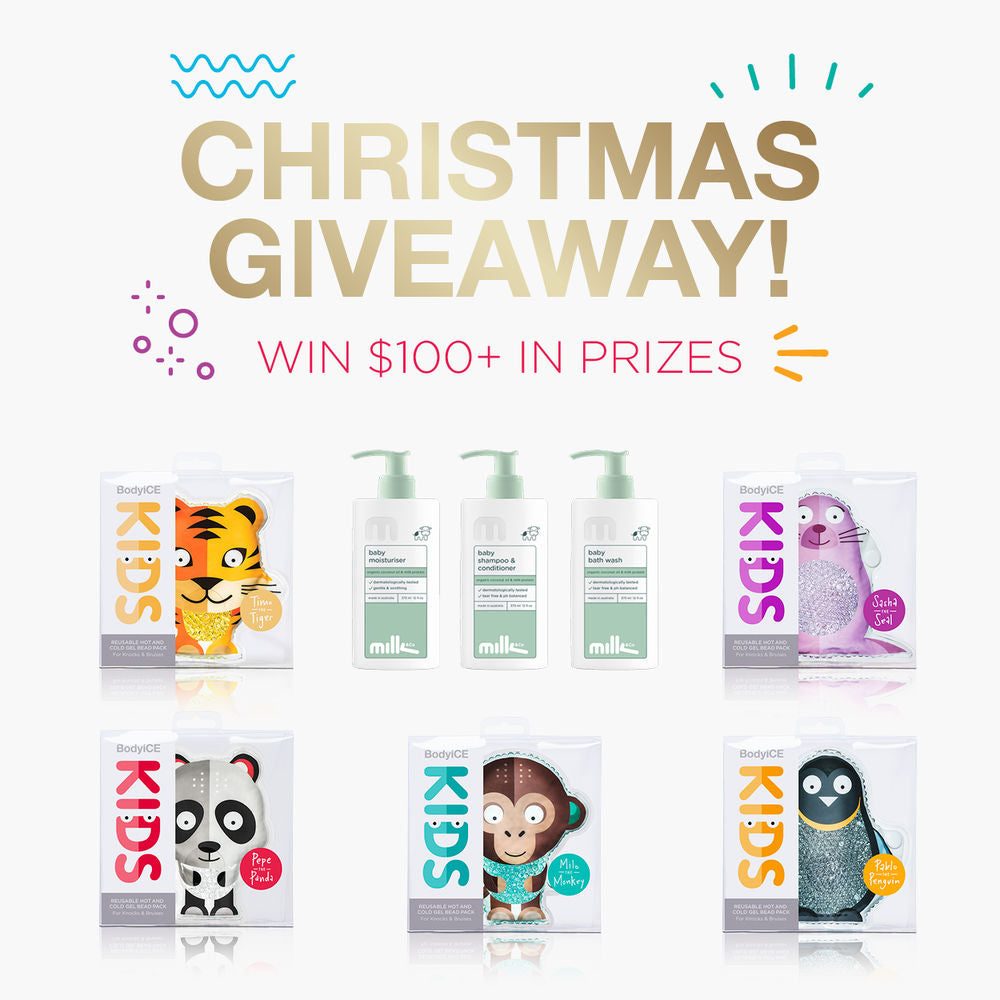 BodyICE Kids Prize Pack