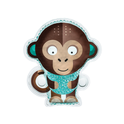 BodyICE Milo The Monkey - Kids Ice and Heat Pack to soothe Knocks and Bruises - BodyICE
