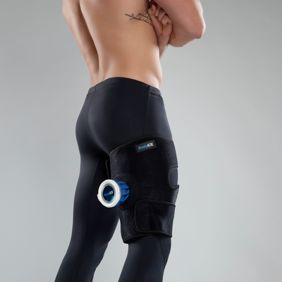 BodyICE Large Universal Ice Pack with strap for Hamstring and Thigh - BodyICE Australia