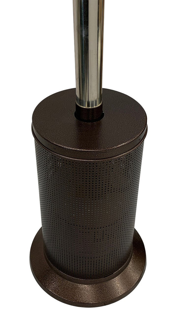 Bronze & Stainless Steel Mushroom Style Patio Heater