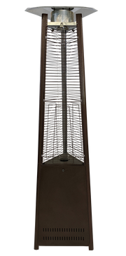 Bronze Tower of Fire Style Patio Heater