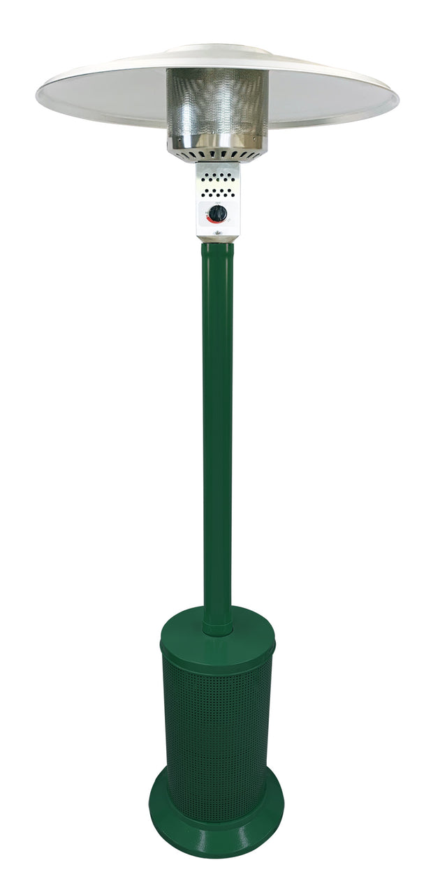 Dark Green Mushroom Style Patio Heater