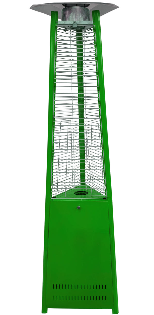 Light Green Tower of Fire Style Patio Heater
