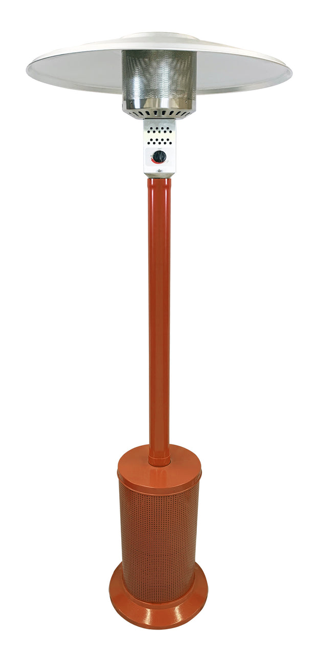 Orange Mushroom Style Patio Heater