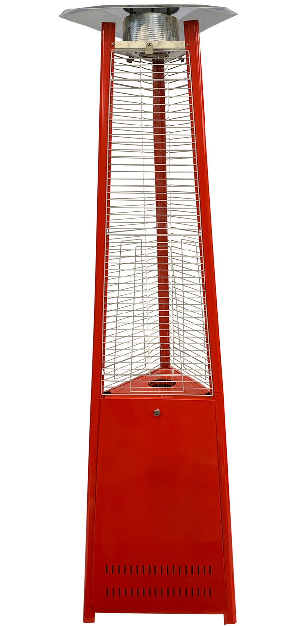 Red Tower of Fire Style Patio Heater
