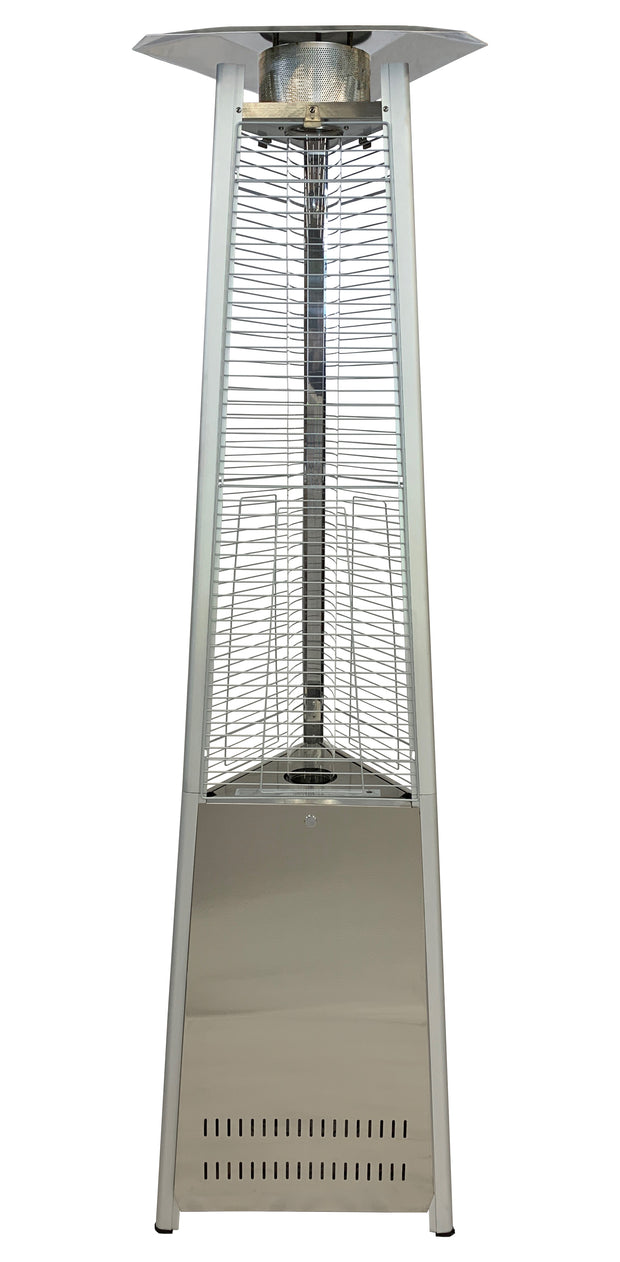 Stainless Steel Tower of Fire Style Patio Heater