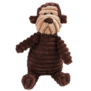 Dog Plush Chewy Toy - 16 Styles!