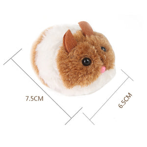 'Buzz' Vibrating Hamster Cat Toy