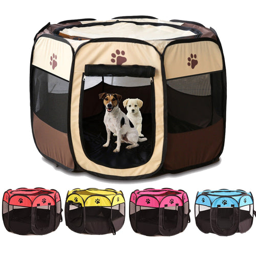 'Pooch Tent' Portable Foldable Playpen