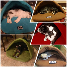 Load image into Gallery viewer, Pillow Warm Fleece Dog Bed