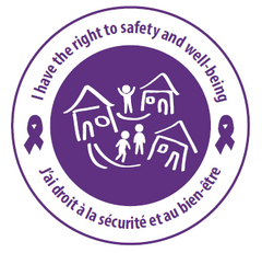 "* NEW!! ODPD ""Safety/Well-being"" Stickers - pkg of 100"