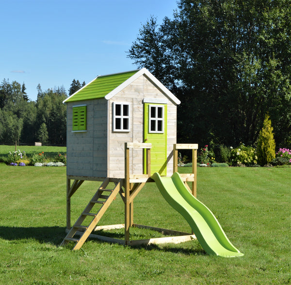 Wendi Toys Modular Playhouse M22 My Lodge Lime