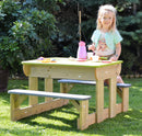 Wendi Toys T2 Deluxe Picnic Table with Benches