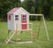 Wendi Toys Modular Playhouse M23 My Lodge Red